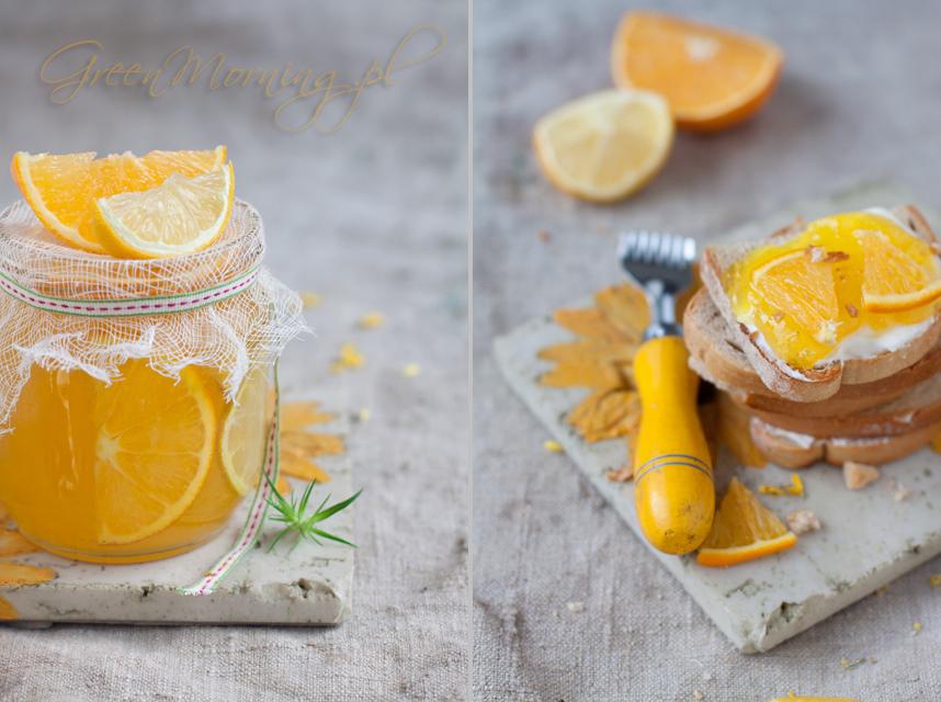 dżem pomarańczowy przepis