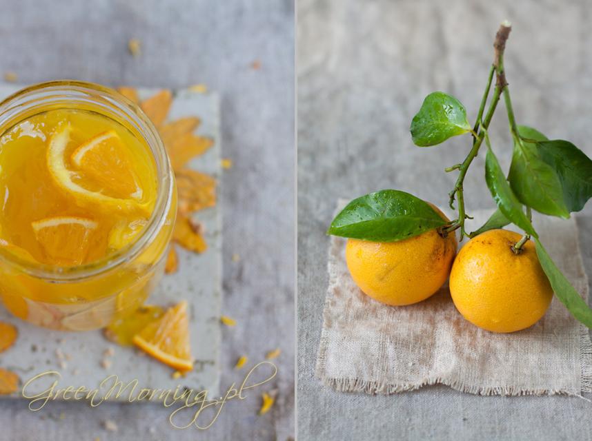 konfitura pomaranczowa