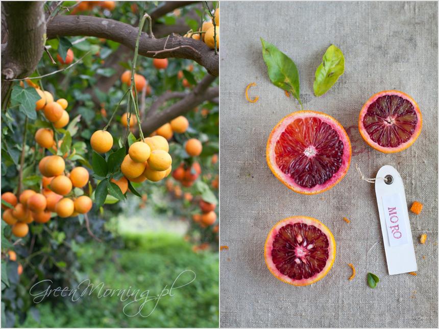 moro orange, czerwone pomarańcze