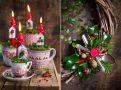 Świąteczne dekoracje – sesja do magazynu Country